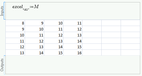 Example: Formatting an Excel Component
